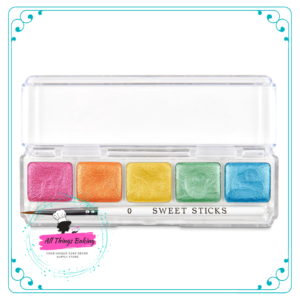 Water Activated Paint Palette - Rainbow