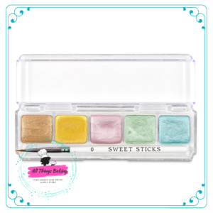 Water Activated Paint Palette - Floral