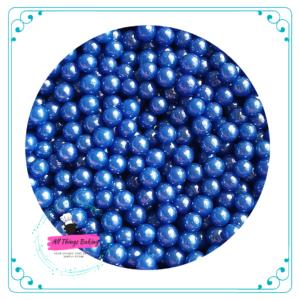 6mm Sugar Pearls - Blue
