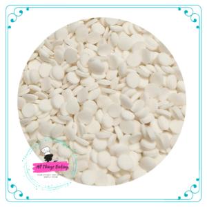 Confetti Dots -White