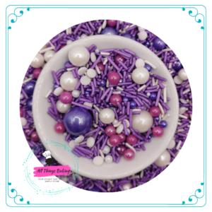 Themed Sprinkles - Purple Rain