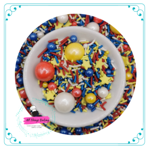 Themed Sprinkles - Superhero