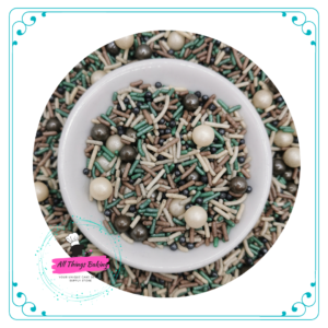 Themed Sprinkles - Camouflage