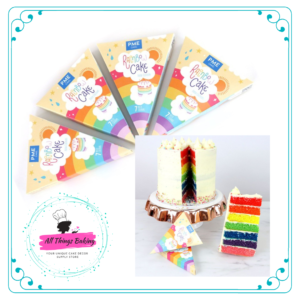 Rainbow Cake Food Colour Set