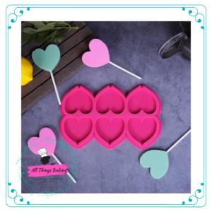 Lollipop Mould - Heart