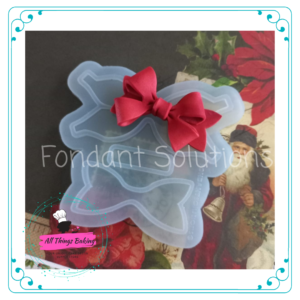 Silicone Mould - 3D Christmas Bow