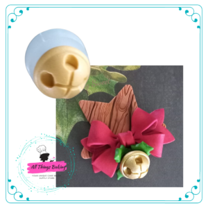 Silicone Mould - 3D Bell (set of 2)
