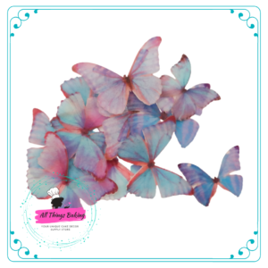 Wafer Paper Butterflies - Enchanted